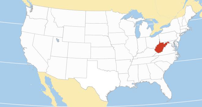 West Virginia area code